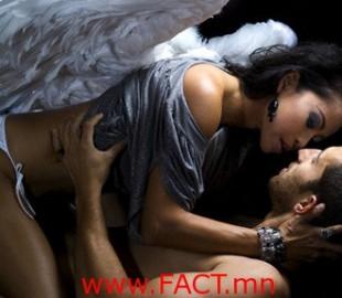 Angel Kissing Man