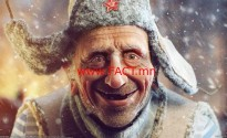 Sergei-Andreychenko-paiting-hat-winter-man-smiler-wallpaper